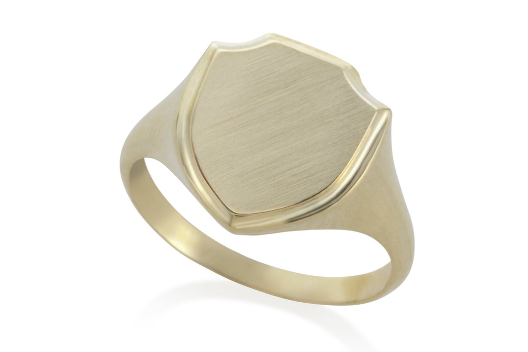 My ring of love -  Solid Gold