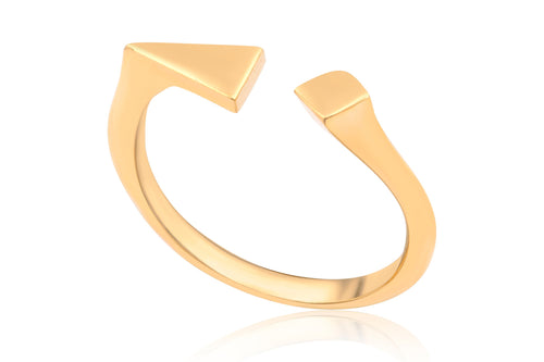 Spotlight ring - Gold Plated