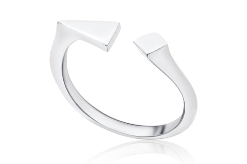 Spotlight ring - Silver