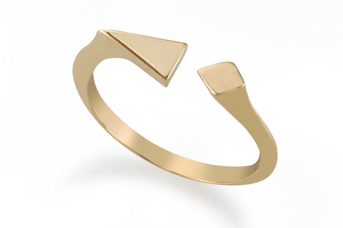 Spotlight ring - Solid Gold