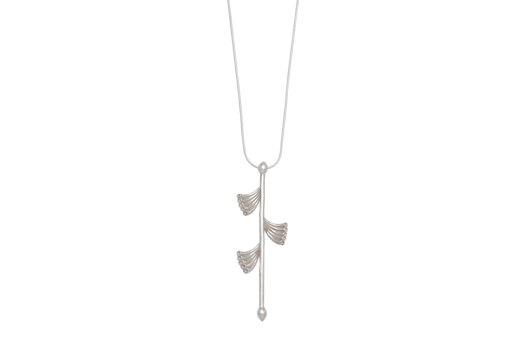 Crowns necklace - silver