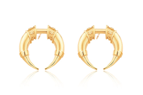 Wild Forest Earrings - Gold Plated