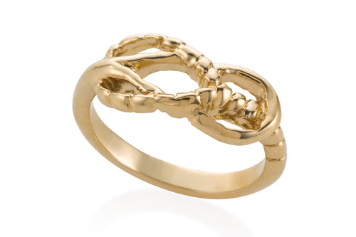 Knot ring - Gold Plated