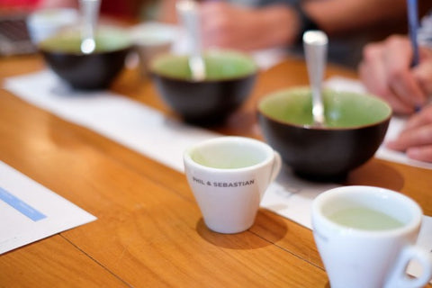 Matcha at Phil & Sebastian in Mission