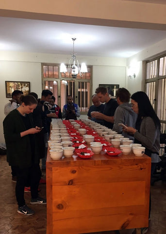 More cupping in Addis Ababa