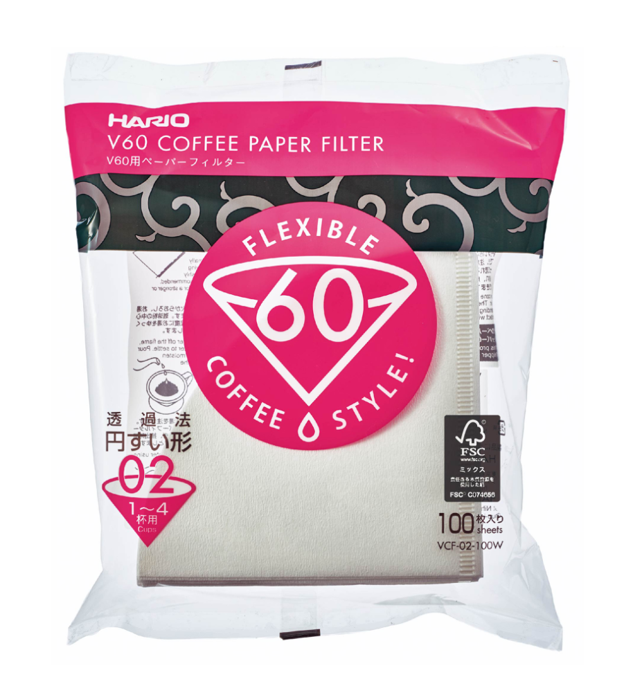 Hario V60 4-Cup Paper Filters