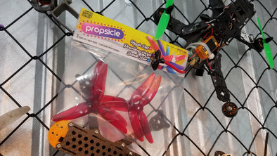 HQ 5x4.8x3 V1S Propsicle Props - Rippin' Red