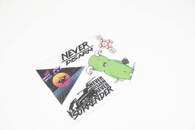 Never Disarm/Kwad Pilot Sticker Sheet