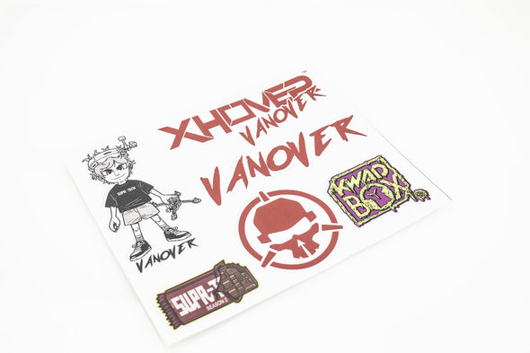 Captain Vanover Stickers