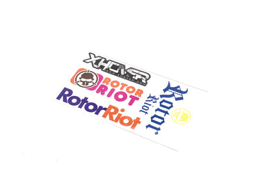 Sticker Sheet (Camo Xhover Dunkin RR)