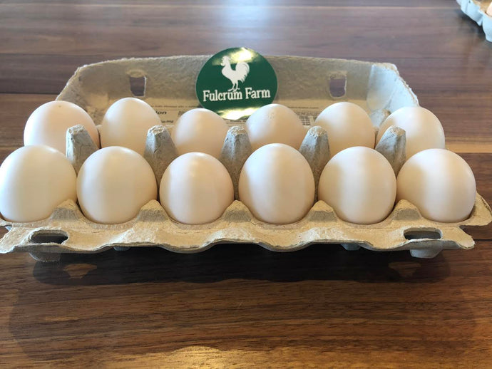 One Dozen Duck Eggs