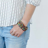 Brazalete Softy rojo multicolor. - Trapotroppo