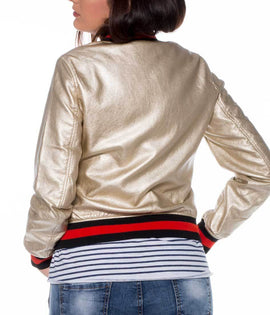 Bomber Crackle dorada