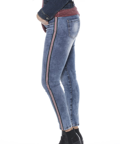 Jeans Skinny Fit con cinta