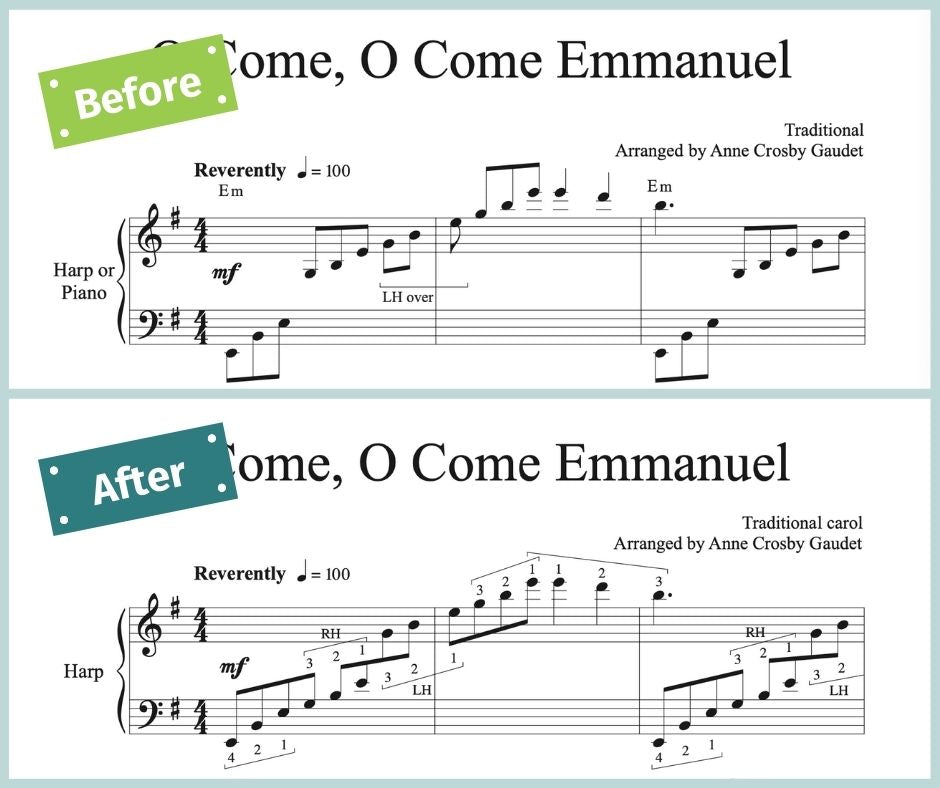 Before and After: O Come, O Come Emmanuel