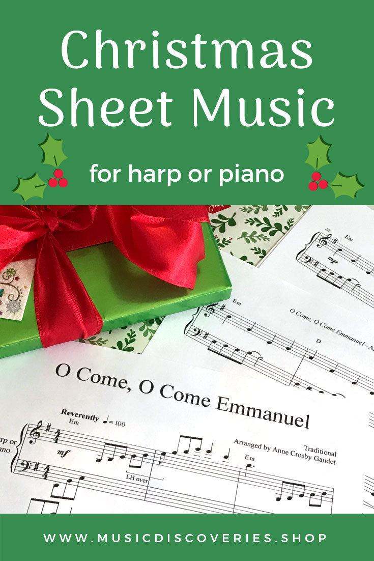 Christmas Music Arrangements by Anne Crosby Gaudet