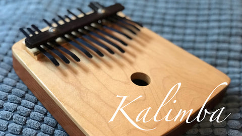 Kalimba or thumb piano