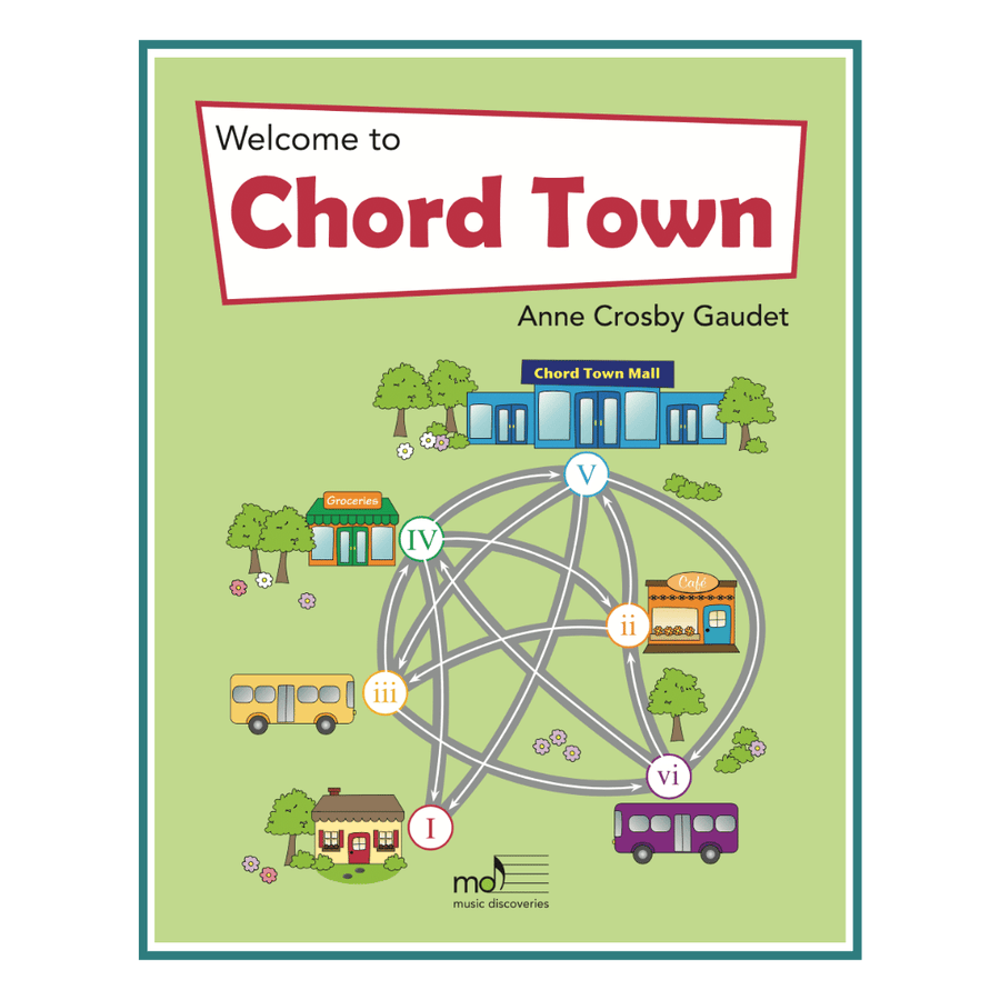 Chord Town by Anne Crosby Gaudet (for harp or piano)