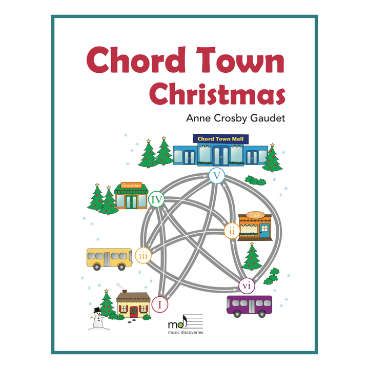 Chord Town Christmas by Anne Crosby Gaudet