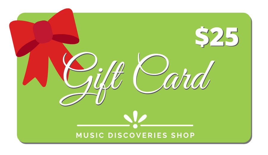 Music Discoveries Gift Card