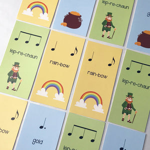 The Leprechaun Rhythms are great for introducing 6/8. Download • Print • Teach!