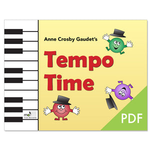 Tempo Time by Anne Crosby Gaudet (PDF download)