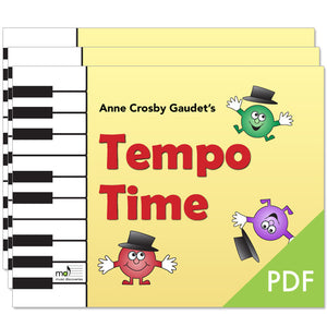 Tempo Time by Anne Crosby Gaudet (studio license)