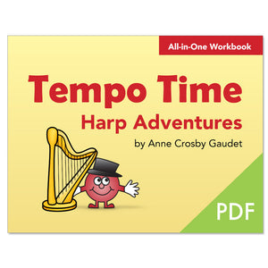Tempo Time Harp Adventures by Anne Crosby Gaudet (PDF download)