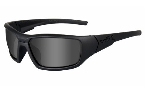 Wiley X, Censor, Matte Black Frame with Grey Lenses.