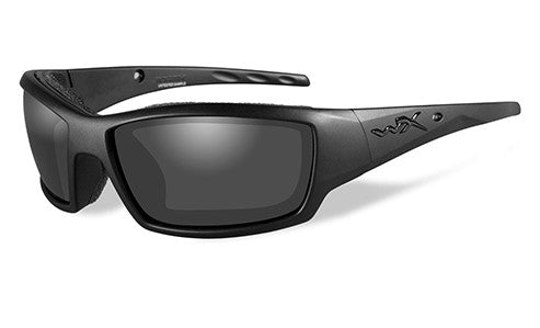 Wiley X, Tide, Matte Black Frame with Grey Lenses.