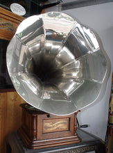 Columbia graphophone, B1 Sterling, nickle plated horn. 1901