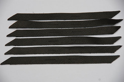 Conchoe leather strip