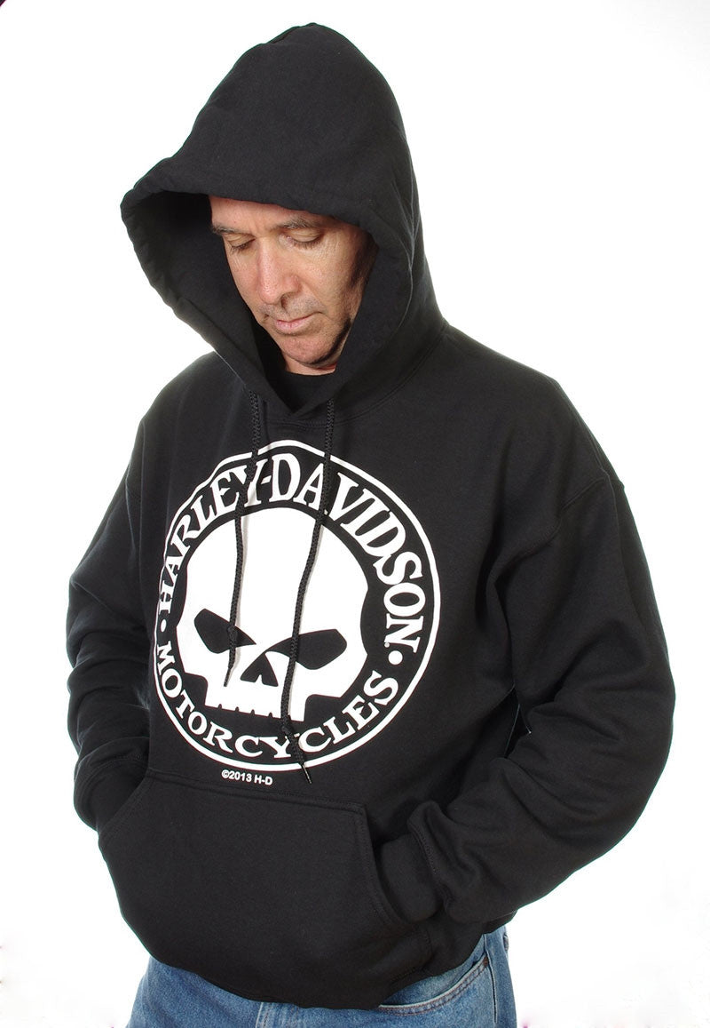 H-D  Willie G Kanga pouch hoodie.