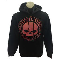 H-D  Red Willie G Kanga pouch hoodie.