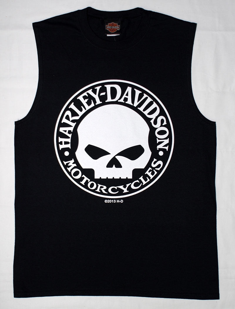 H-D  Willie G Sleeveless Tee-shirt, Exclusive to Gypsy Leather.