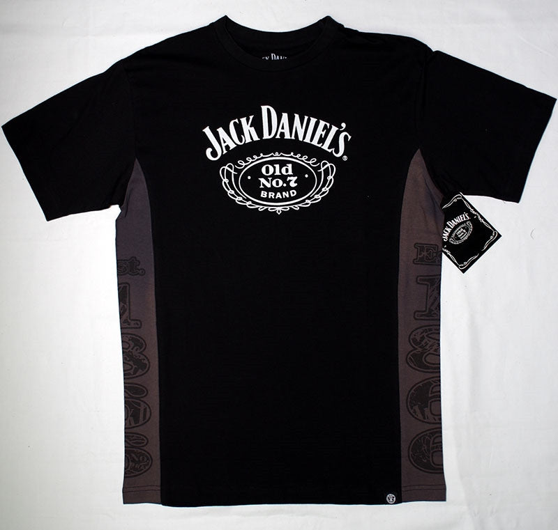 Jack Daniel's   Old 7 Black Tee-shirt