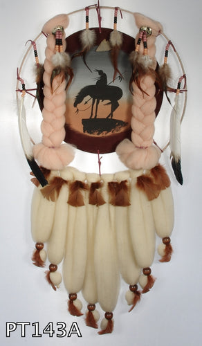 American Indian Mandella made by Navajo in USA #143A