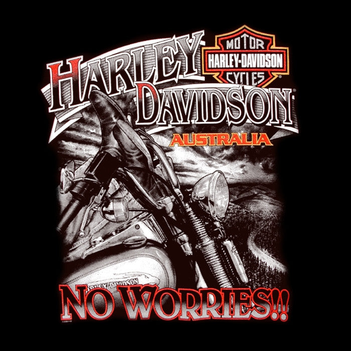 H-D No Worries Australia Tee-shirt