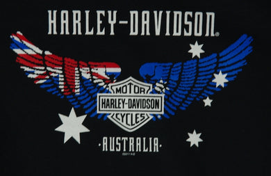 H-D OZ Flag Wings Tee-shirt.