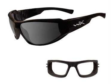 Wiley X. Jake - Grey lense, Gloss Black Frame