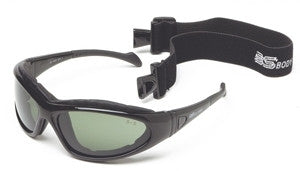 Body Specs.BSG-3, Anti fog, Smoke,Clear and Rust Lenses, Gloss black frame