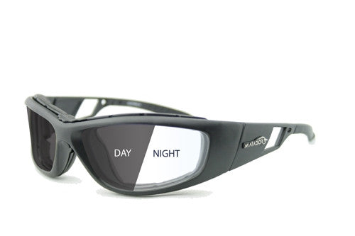 Matador Leon - Photochromatic, Clear to Grey light adjusting lens, Matte Black frame.