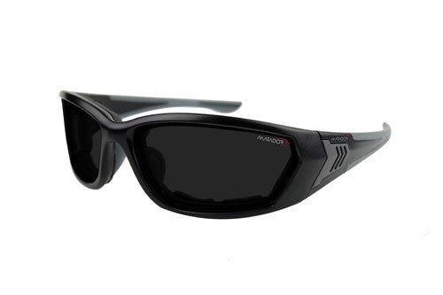 Matador Granada - Clear/Grey lense kit, Matte Black frame.