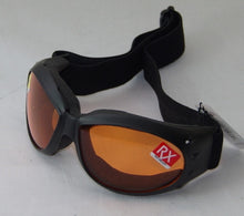 Goggles Padded lining - Anti-fog Smoke, Amber or Clear lens.