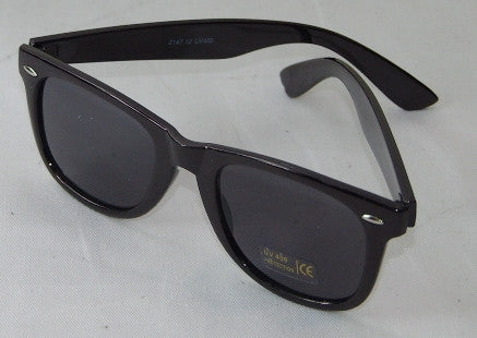 Sunglases - Smoke lens, Gloss Black or Black & Red Frame