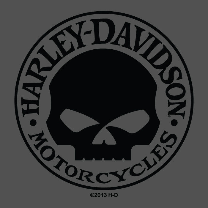 H-D Willie G Tee-shirt, Charcoal