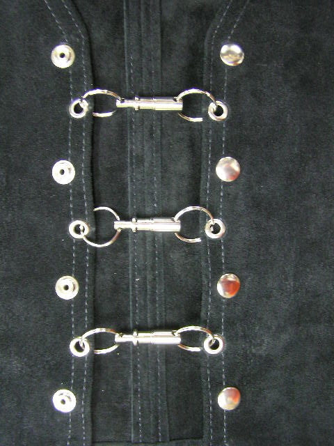 Vest spring loaded easy join clips x 3