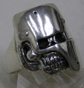 Sterling silver (925) mens Dead Ned ring