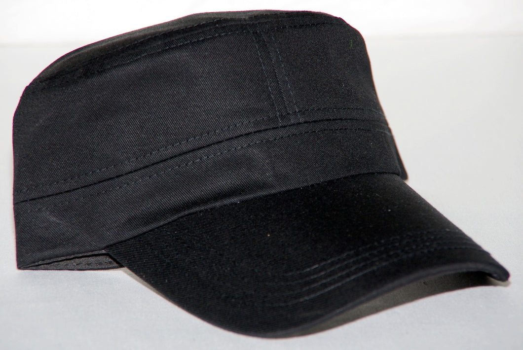 Plain black Cap