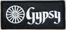Gypsy 100mm wide embroided patch.